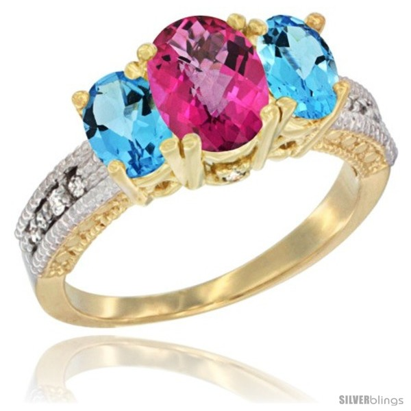 https://www.silverblings.com/24274-thickbox_default/14k-yellow-gold-ladies-oval-natural-pink-topaz-3-stone-ring-swiss-blue-topaz-sides-diamond-accent.jpg