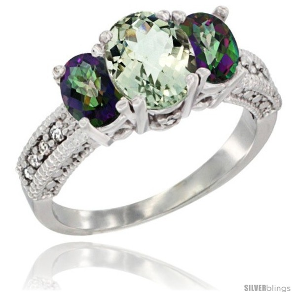 https://www.silverblings.com/2476-thickbox_default/10k-white-gold-ladies-oval-natural-green-amethyst-3-stone-ring-mystic-topaz-sides-diamond-accent.jpg