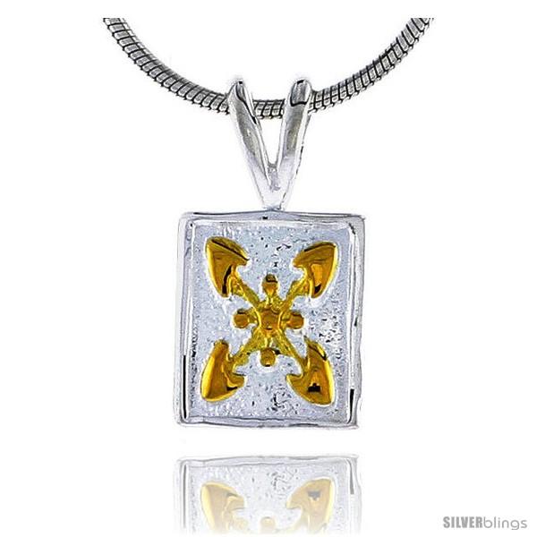 https://www.silverblings.com/24801-thickbox_default/hawaiian-theme-sterling-silver-2-tone-flower-pendant-1-2-12-mm-tall.jpg