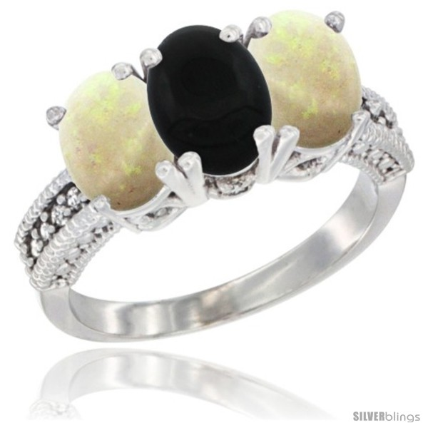 https://www.silverblings.com/25085-thickbox_default/10k-white-gold-natural-black-onyx-opal-ring-3-stone-oval-7x5-mm-diamond-accent.jpg