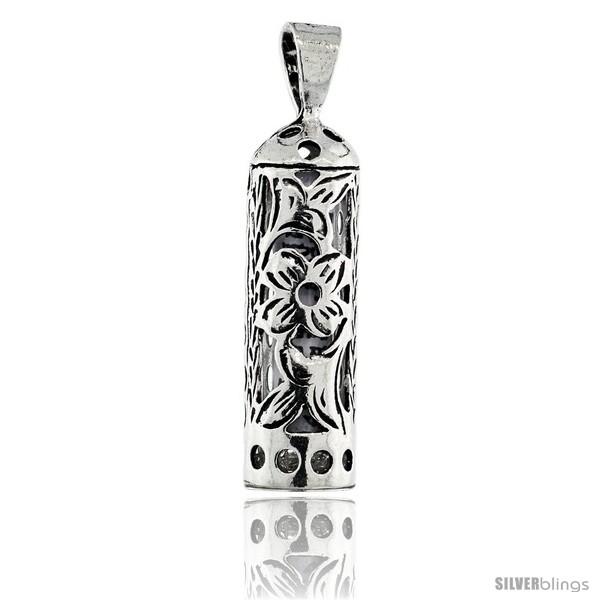 https://www.silverblings.com/25370-thickbox_default/sterling-silver-mezuzah-pendant-tubular-shape-w-floral-pattern-1-in-25-mm-tall.jpg