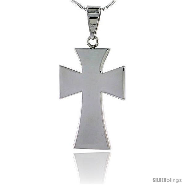 https://www.silverblings.com/2569-thickbox_default/stainless-steel-maltese-cross-pendant-1-3-16-in-tall-w-30-in-chain.jpg