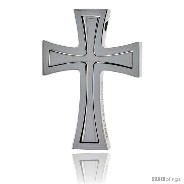 https://www.silverblings.com/2575-thickbox_default/stainless-steel-cross-pendant-1-1-2-in-tall-w-30-in-chain.jpg