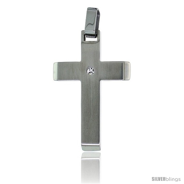 https://www.silverblings.com/2599-thickbox_default/stainless-steel-latin-cross-pendant-w-cz-stone-30-in-chain.jpg