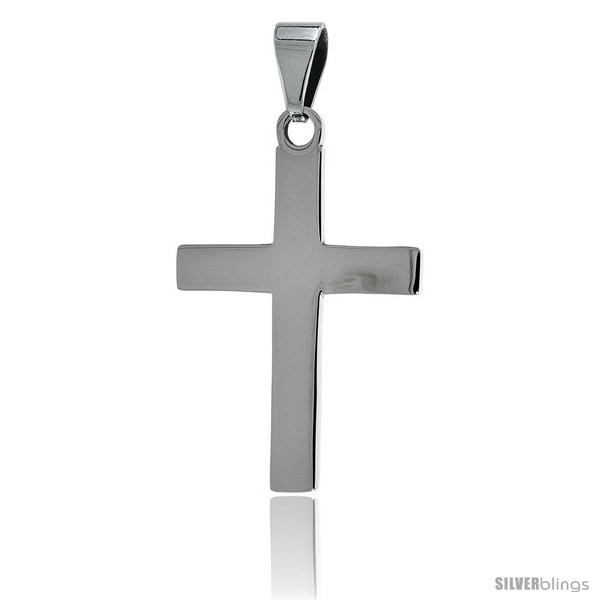 https://www.silverblings.com/2649-thickbox_default/stainless-steel-plain-latin-cross-pendant-1-1-2-in-tall-30-in-chain.jpg
