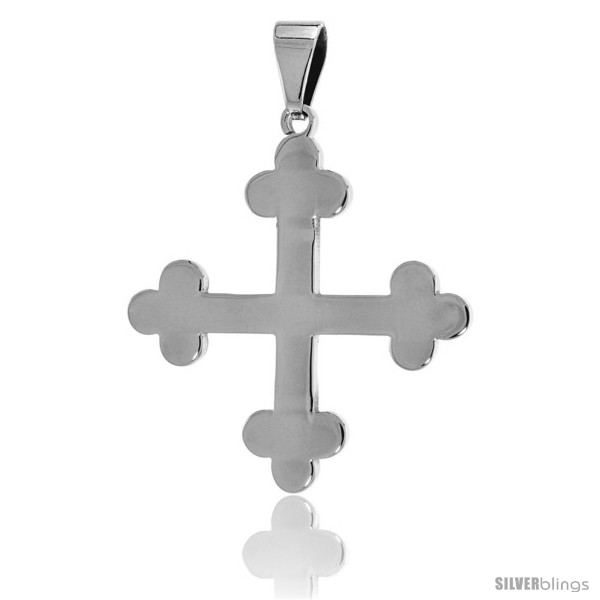 https://www.silverblings.com/2655-thickbox_default/stainless-steel-apostles-cross-pendant-1-1-2-in-tall-30-in-chain.jpg