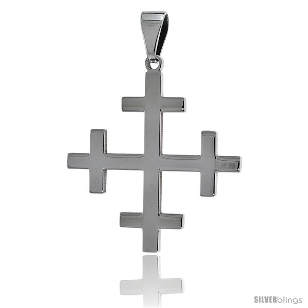 https://www.silverblings.com/2657-thickbox_default/stainless-steel-crosslet-cross-pendant-1-1-2-in-tall-30-in-chain.jpg