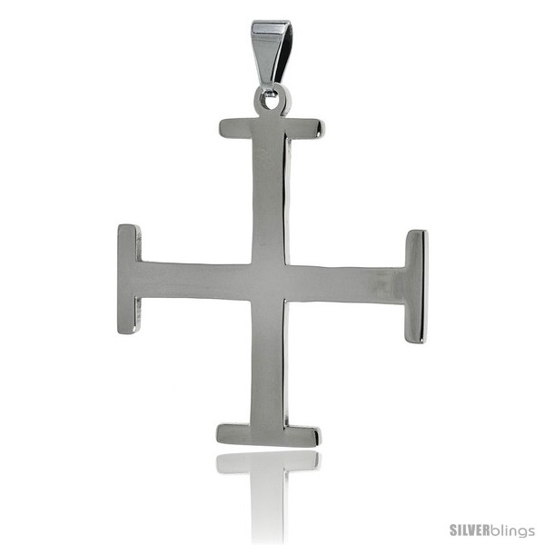 https://www.silverblings.com/2663-thickbox_default/stainless-steel-teutonic-cross-pendant-1-1-2-in-tall-30-in-chain.jpg