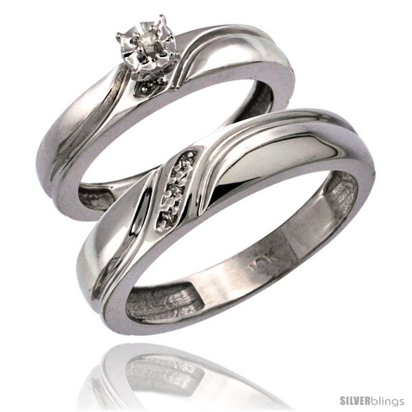 https://www.silverblings.com/26803-thickbox_default/10k-white-gold-2-pc-diamond-ring-set-4mm-engagement-ring-5mm-mans-wedding-band-w-0-049-carat-brilliant-cut-diamonds.jpg