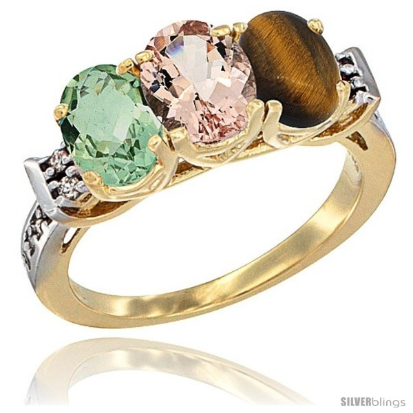 https://www.silverblings.com/2705-thickbox_default/10k-yellow-gold-natural-green-amethyst-morganite-tiger-eye-ring-3-stone-oval-7x5-mm-diamond-accent.jpg