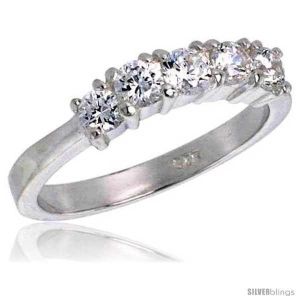 https://www.silverblings.com/276-thickbox_default/sterling-silver-1-25-carat-size-brilliant-cut-cubic-zirconia-bridal-ring-1-8-in-3-5-mm-wide.jpg