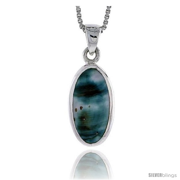 https://www.silverblings.com/27701-thickbox_default/sterling-silver-oval-shell-pendant-w-blue-green-mother-of-pearl-inlay-7-8-22-mm-tall18-thin-snake-chain.jpg
