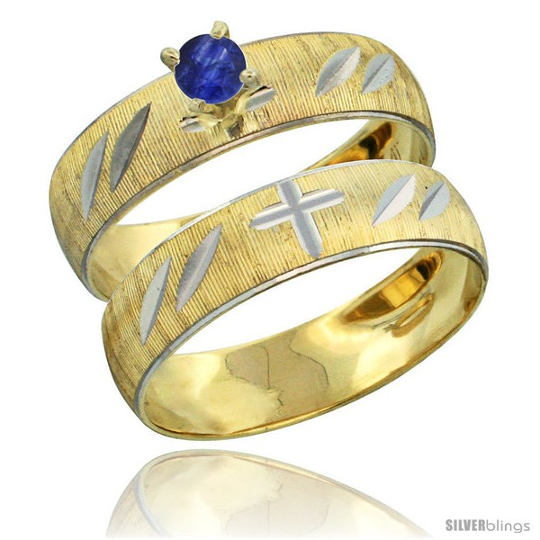 https://www.silverblings.com/27808-thickbox_default/10k-gold-ladies-2-piece-0-25-carat-deep-blue-sapphire-engagement-ring-set-diamond-cut-pattern-rhodium-accent-style-10y504e2.jpg