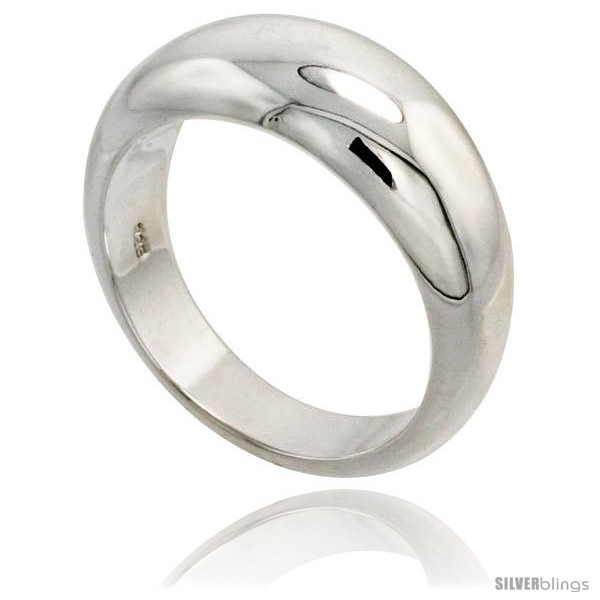 https://www.silverblings.com/27966-thickbox_default/sterling-silver-low-dome-cigar-band-ring-flawless-finish-3-8-in-wide.jpg