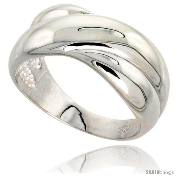 https://www.silverblings.com/27976-thickbox_default/sterling-silver-crisscross-domed-ring-flawless-finish-3-8-in-wide.jpg