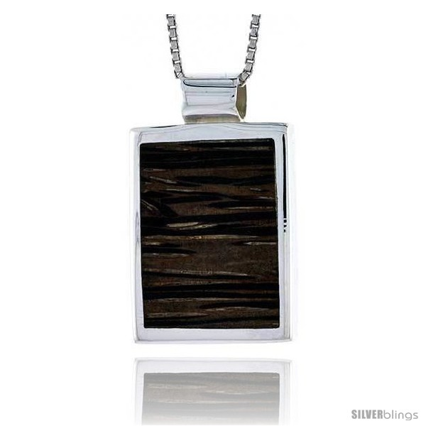 https://www.silverblings.com/28084-thickbox_default/sterling-silver-square-shaped-slider-pendant-w-ancient-wood-inlay-7-8-22-mm-tall-w-18-thin-snake-chain.jpg