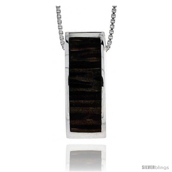 https://www.silverblings.com/28086-thickbox_default/sterling-silver-rectangular-slider-pendant-w-ancient-wood-inlay-7-8-22-mm-tall-w-18-thin-snake-chain.jpg