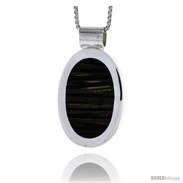 https://www.silverblings.com/28100-thickbox_default/sterling-silver-oval-slider-pendant-w-ancient-wood-inlay-15-16-24-mm-tall-w-18-thin-snake-chain.jpg