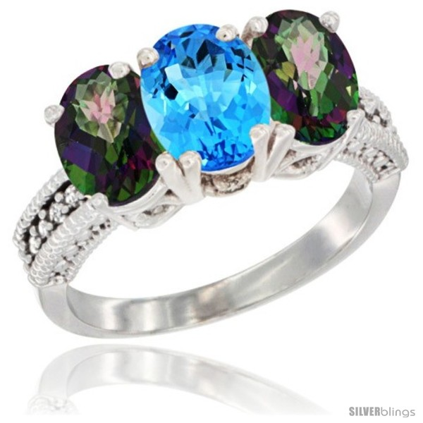https://www.silverblings.com/2813-thickbox_default/10k-white-gold-natural-swiss-blue-topaz-mystic-topaz-sides-ring-3-stone-oval-7x5-mm-diamond-accent.jpg