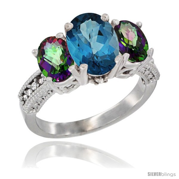 https://www.silverblings.com/2818-thickbox_default/10k-white-gold-ladies-natural-london-blue-topaz-oval-3-stone-ring-mystic-topaz-sides-diamond-accent.jpg