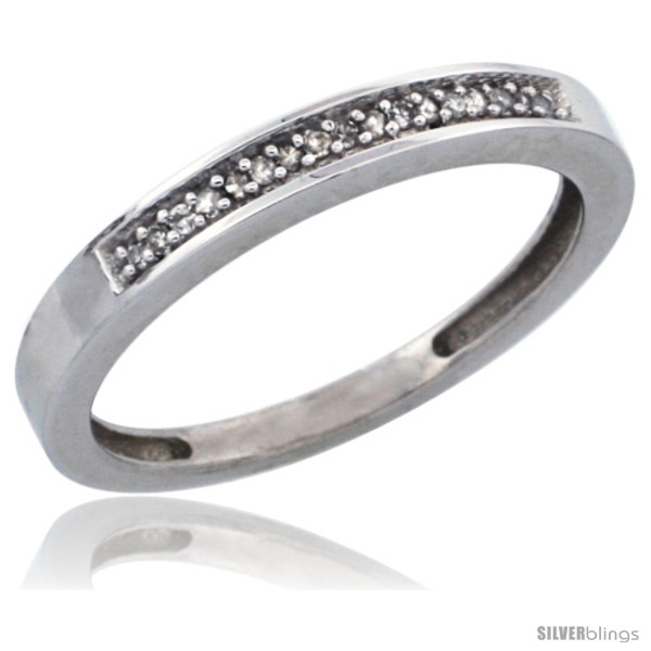 https://www.silverblings.com/28210-thickbox_default/10k-white-gold-ladies-diamond-band-w-0-08-carat-brilliant-cut-diamonds-3-32-in-2-5mm-wide.jpg
