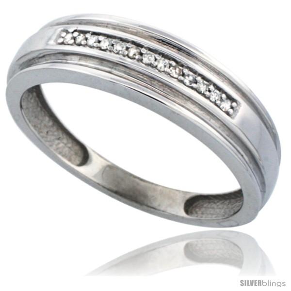 https://www.silverblings.com/28214-thickbox_default/10k-white-gold-mens-diamond-band-w-0-06-carat-brilliant-cut-diamonds-1-4-in-6mm-wide.jpg