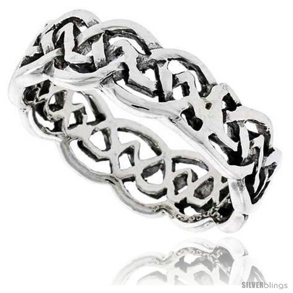 https://www.silverblings.com/28218-thickbox_default/sterling-silver-celtic-knot-flat-wedding-band-thumb-ring-1-4-in-wide.jpg