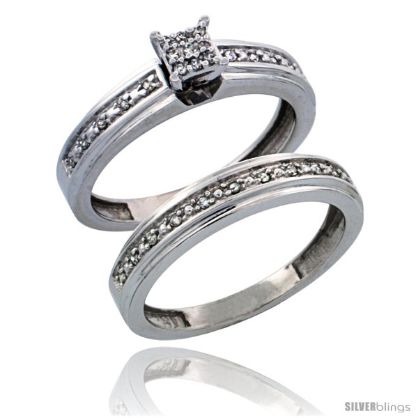 https://www.silverblings.com/28230-thickbox_default/10k-white-gold-2-piece-diamond-engagement-ring-set-w-0-21-carat-brilliant-cut-diamonds-5-32-in-4mm-wide.jpg