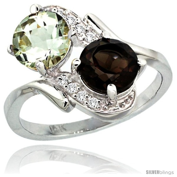 https://www.silverblings.com/2837-thickbox_default/14k-white-gold-7-mm-double-stone-engagement-green-amethyst-smoky-topaz-ring-w-0-05-carat-brilliant-cut-diamonds-2-34.jpg