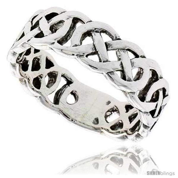 https://www.silverblings.com/28422-thickbox_default/sterling-silver-celtic-knot-flat-wedding-band-thumb-ring-1-4-in-wide-style-tr210.jpg
