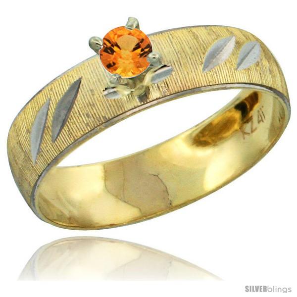 https://www.silverblings.com/28481-thickbox_default/10k-gold-ladies-solitaire-0-25-carat-orange-sapphire-engagement-ring-diamond-cut-pattern-rhodium-accent-3-16-style-10y504er.jpg