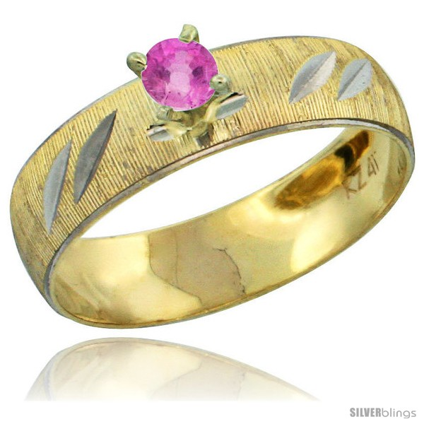 https://www.silverblings.com/28485-thickbox_default/10k-gold-ladies-solitaire-0-25-carat-pink-sapphire-engagement-ring-diamond-cut-pattern-rhodium-accent-3-16-style-10y504er.jpg