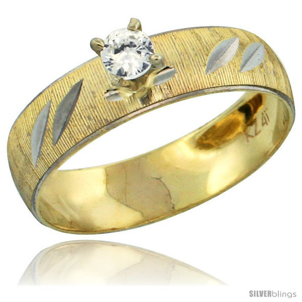 https://www.silverblings.com/28489-thickbox_default/10k-gold-ladies-solitaire-0-25-carat-white-sapphire-engagement-ring-diamond-cut-pattern-rhodium-accent-3-16-style-10y504er.jpg