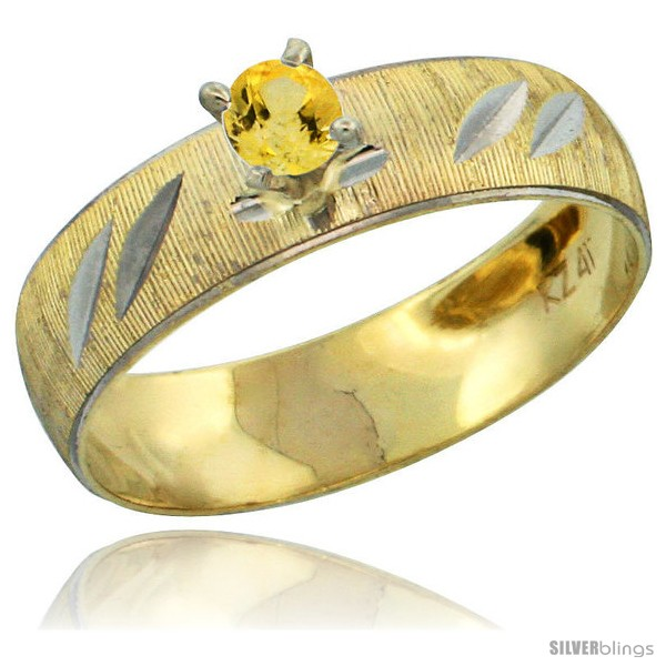 https://www.silverblings.com/28493-thickbox_default/10k-gold-ladies-solitaire-0-25-carat-yellow-sapphire-engagement-ring-diamond-cut-pattern-rhodium-accent-3-16-style-10y504er.jpg