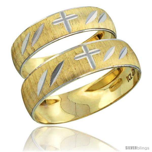 https://www.silverblings.com/28505-thickbox_default/10k-gold-2-piece-wedding-band-ring-set-him-her-5-5mm-4-5mm-diamond-cut-pattern-rhodium-accent-style-10y504w2.jpg