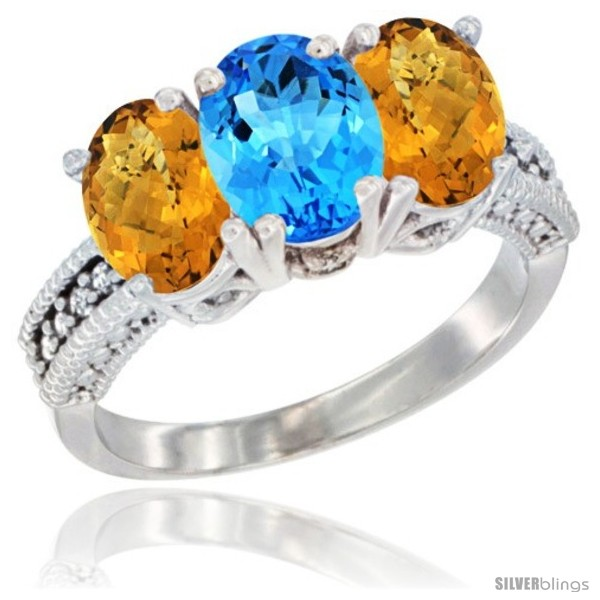 https://www.silverblings.com/28560-thickbox_default/10k-white-gold-natural-swiss-blue-topaz-whisky-quartz-sides-ring-3-stone-oval-7x5-mm-diamond-accent.jpg
