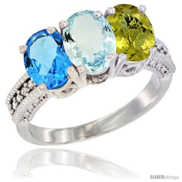 https://www.silverblings.com/28641-thickbox_default/14k-white-gold-natural-swiss-blue-topaz-aquamarine-lemon-quartz-ring-3-stone-7x5-mm-oval-diamond-accent.jpg