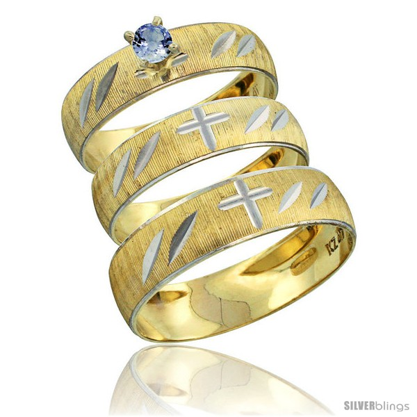 https://www.silverblings.com/28677-thickbox_default/10k-gold-3-piece-trio-light-blue-sapphire-wedding-ring-set-him-her-0-10-ct-rhodium-accent-diamond-cut-pattern-style-10y504w3.jpg