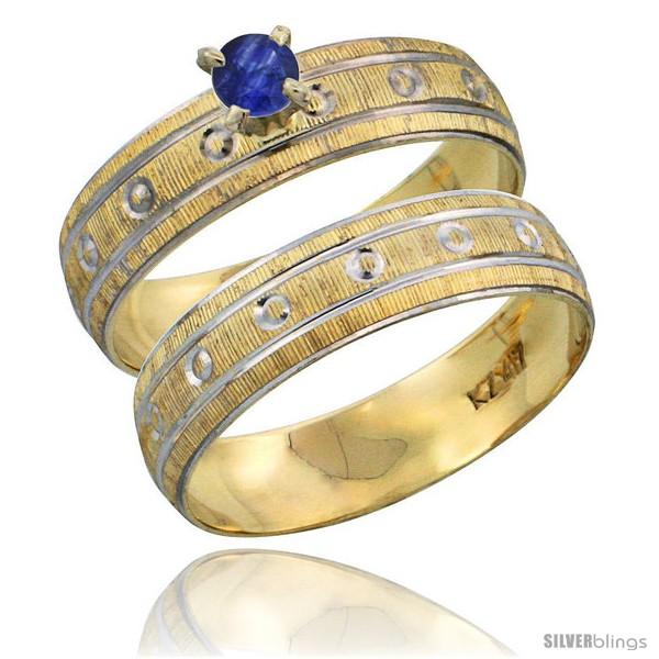 https://www.silverblings.com/28931-thickbox_default/10k-gold-ladies-2-piece-0-25-carat-deep-blue-sapphire-engagement-ring-set-diamond-cut-pattern-rhodium-accent-style-10y505e2.jpg