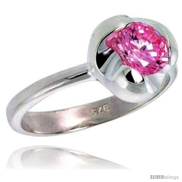 https://www.silverblings.com/2898-thickbox_default/sterling-silver-pink-tourmaline-colored-cz-flower-solitaire-ring.jpg