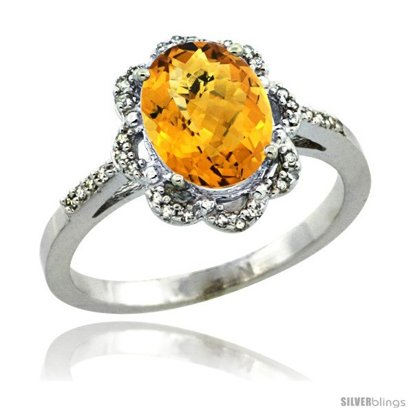 https://www.silverblings.com/28993-thickbox_default/10k-white-gold-diamond-halo-whisky-quartz-ring-1-65-carat-oval-shape-9x7-mm-7-16-in-11mm-wide.jpg