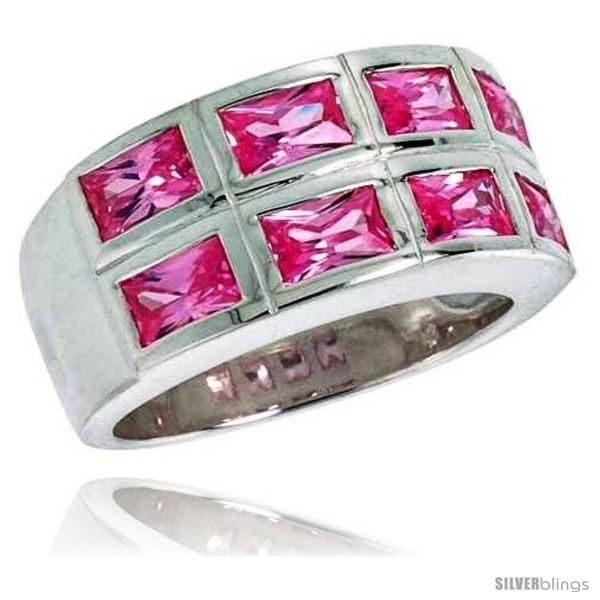 https://www.silverblings.com/2902-thickbox_default/sterling-silver-double-row-emerald-cut-pink-tourmaline-colored-cz-ring.jpg