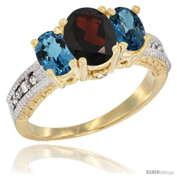 https://www.silverblings.com/29041-thickbox_default/14k-yellow-gold-ladies-oval-natural-garnet-3-stone-ring-london-blue-topaz-sides-diamond-accent.jpg