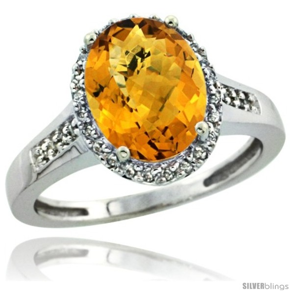 https://www.silverblings.com/29245-thickbox_default/10k-white-gold-diamond-whisky-quartz-ring-2-4-ct-oval-stone-10x8-mm-1-2-in-wide.jpg