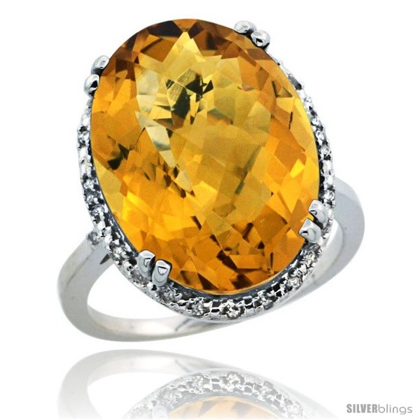 https://www.silverblings.com/29299-thickbox_default/10k-white-gold-diamond-halo-large-whisky-quartz-ring-10-3-ct-oval-stone-18x13-mm-3-4-in-wide.jpg