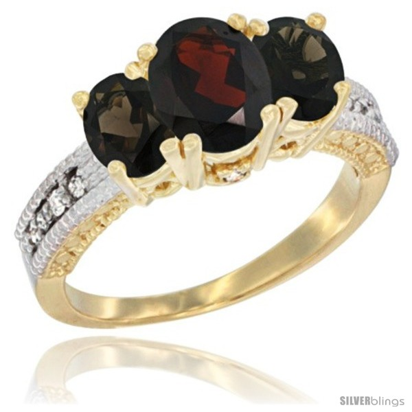 https://www.silverblings.com/29337-thickbox_default/10k-yellow-gold-ladies-oval-natural-garnet-3-stone-ring-smoky-topaz-sides-diamond-accent.jpg