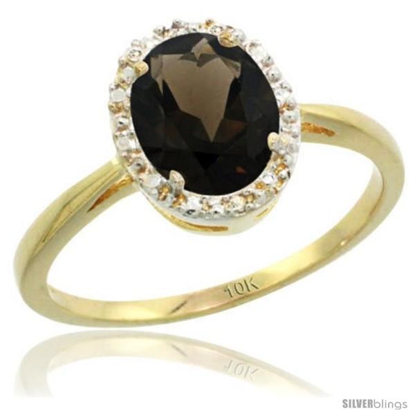 https://www.silverblings.com/29342-thickbox_default/10k-yellow-gold-smoky-topaz-diamond-halo-ring-1-17-carat-8x6-mm-oval-shape-1-2-in-wide.jpg