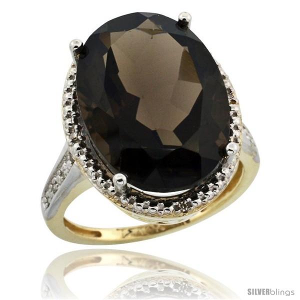 https://www.silverblings.com/29385-thickbox_default/10k-yellow-gold-diamond-smoky-topaz-ring-13-56-carat-oval-shape-18x13-mm-3-4-in-20mm-wide.jpg
