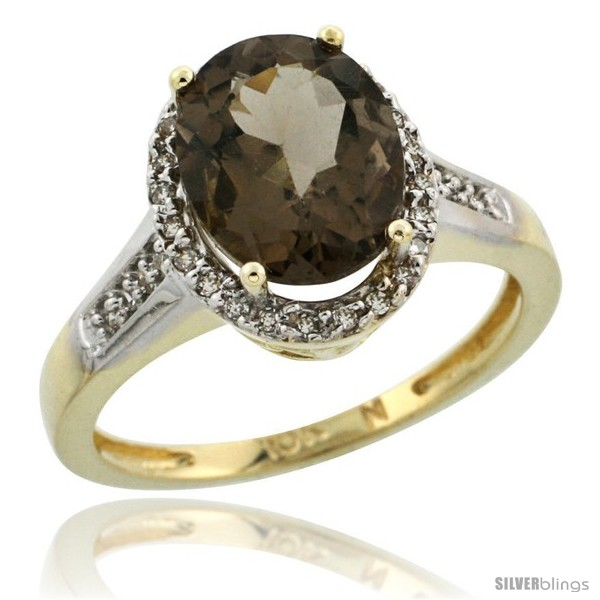 https://www.silverblings.com/29391-thickbox_default/10k-yellow-gold-diamond-smoky-topaz-ring-2-4-ct-oval-stone-10x8-mm-1-2-in-wide.jpg