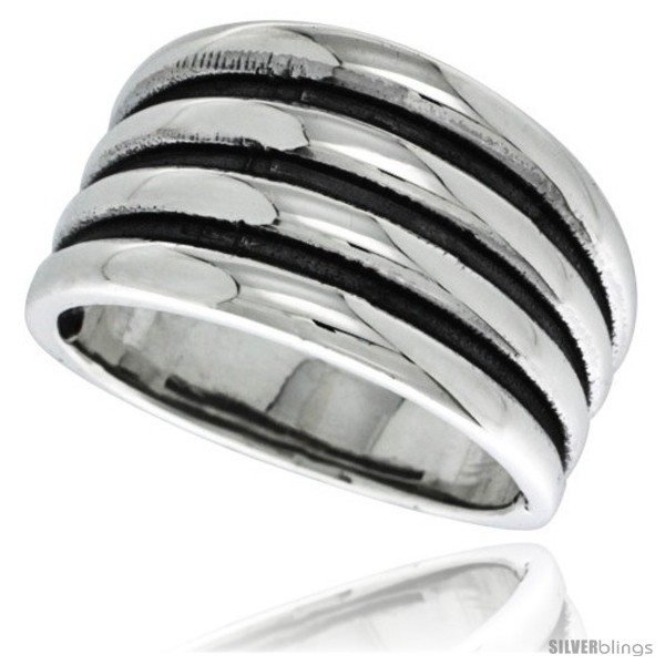 https://www.silverblings.com/29472-thickbox_default/sterling-silver-scalloped-dome-ring-5-8-in-wide-style-tr408.jpg